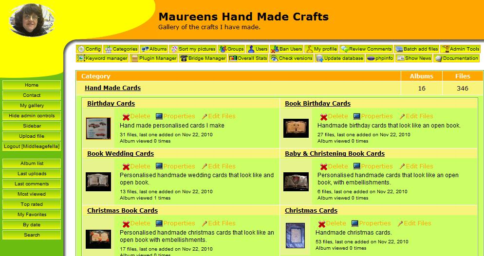 Maureens Cards & Crafts new site