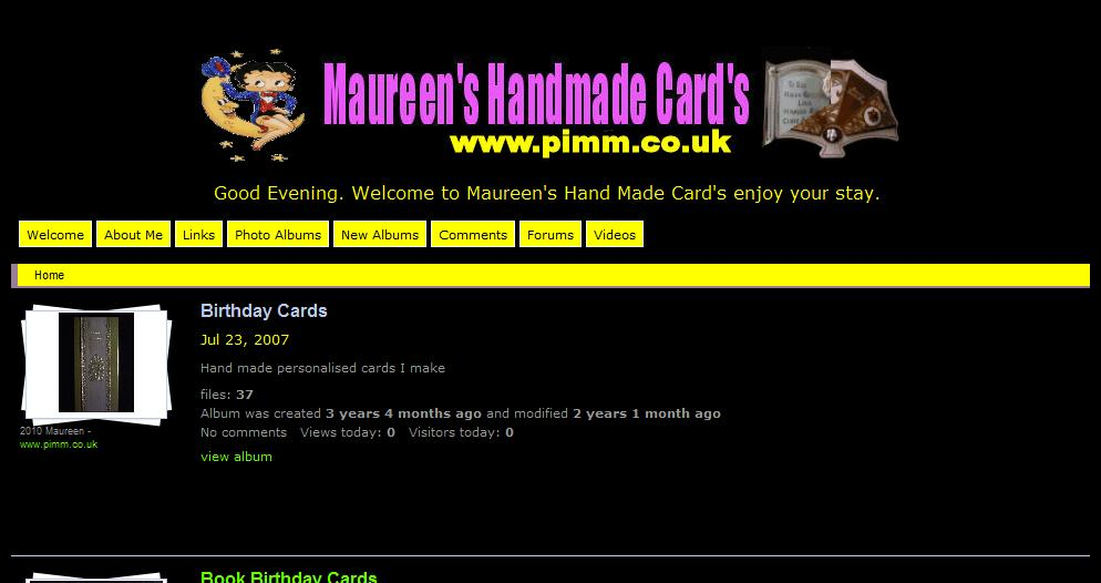 Maureens Cards